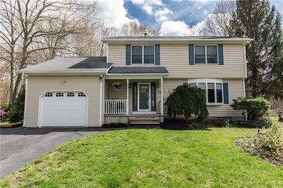 Cranston Single Family Home For Sale: 45 Whispering Pines Dr