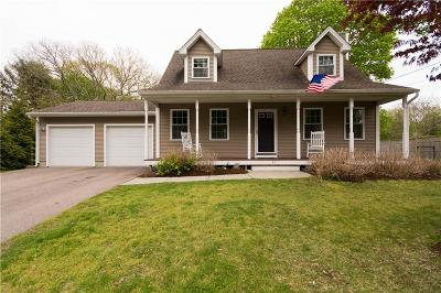 South Kingstown Single Family Home For Sale: 87 Willard Av