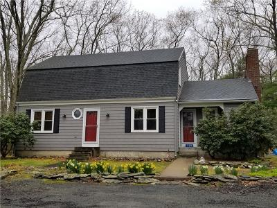 Glocester Single Family Home For Sale: 728 Cooper Rd