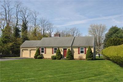 Bristol County Single Family Home Act Und Contract: 180 Poppasquash Rd
