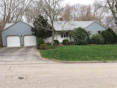 Westerly Single Family Home Act Und Contract: 15 Happy Valley Rd