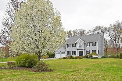 Seekonk Single Family Home For Sale: 110 Chelsea Dr