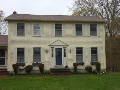 Scituate Single Family Home For Sale: 87 Trimtown Rd