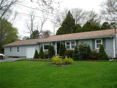North Kingstown Single Family Home For Sale: 445 Annaquatucket Rd