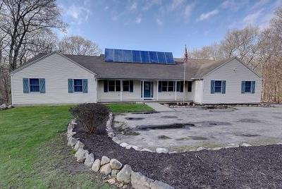 Scituate Single Family Home For Sale: 397 Hope Furnace Road