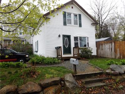 Coventry Single Family Home For Sale: 88 Bates Av