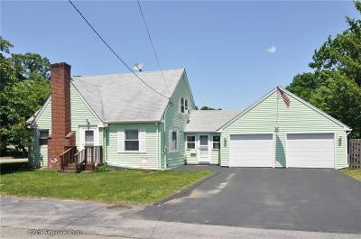 West Warwick Single Family Home For Sale: 5 Shortway Dr