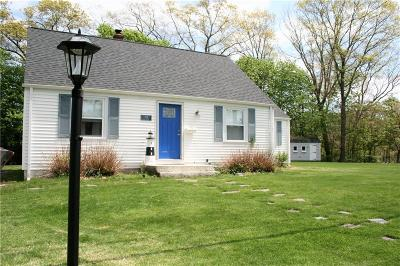 North Kingstown Single Family Home Act Und Contract: 124 Lake Dr