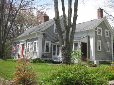 Coventry Single Family Home Act Und Contract: 710 Maple Valley Rd