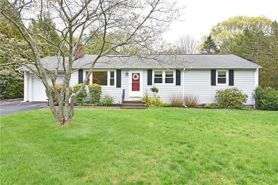 North Kingstown Single Family Home Act Und Contract: 27 Pinecrest Dr