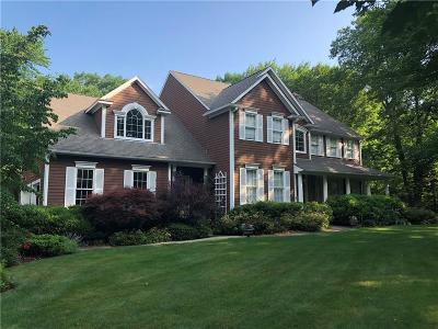 North Kingstown Single Family Home Act Und Contract: 108 Sugarbush Trl