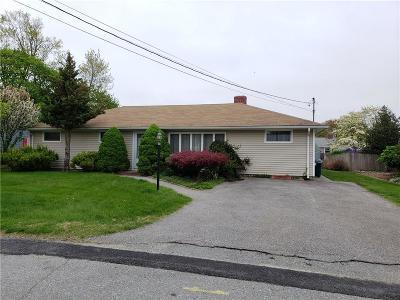 East Providence Single Family Home For Sale: 62 Garden Dr
