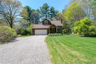 West Greenwich Single Family Home Act Und Contract: 77 John Potter Rd