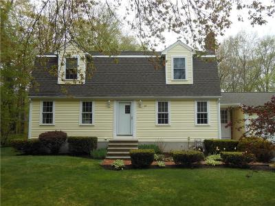 Glocester Single Family Home For Sale: 82 Shaw Dr