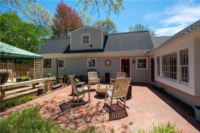 Bristol Single Family Home For Sale: 45 Kickemuit Av