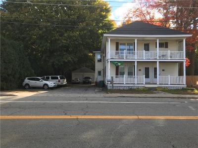 Woonsocket Multi Family Home Act Und Contract: 1812 Mendon Rd
