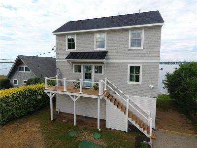 South Kingstown Single Family Home For Sale: 295 Twin Peninsula Av