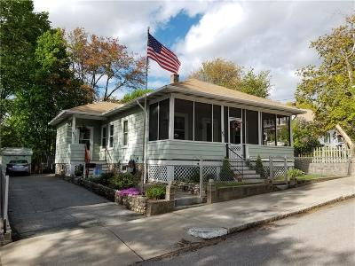 Woonsocket Single Family Home Act Und Contract: 40 Monroe St