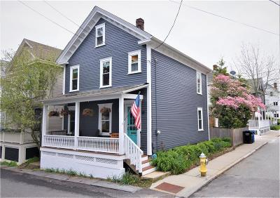 Newport, Middletown, Portsmouth Single Family Home For Sale: 22 Calvert St