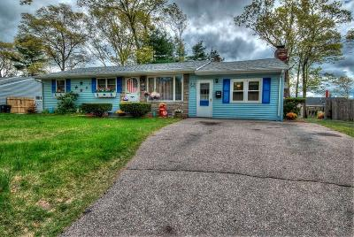 Coventry Single Family Home For Sale: 52 Rawlinson Dr