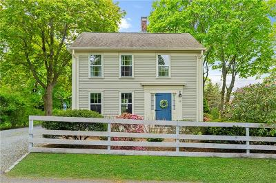 North Kingstown Single Family Home For Sale: 55 Church Lane