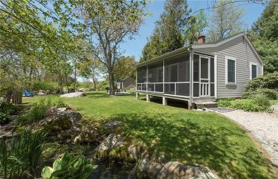 Single Family Home For Sale: 119 West Beach Rd