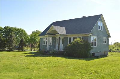 Tiverton Single Family Home For Sale: 1285 Main Rd