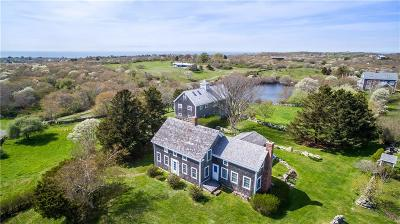 Block Island Single Family Home For Sale: 883 Cooneymus Rd