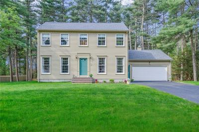 Coventry Single Family Home For Sale: 28 Wood Cove Dr