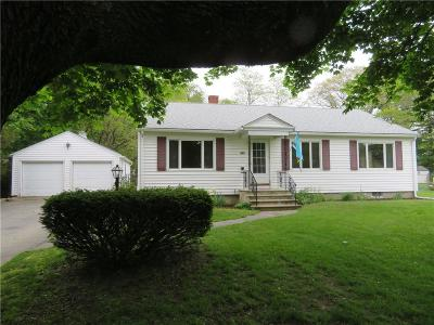 North Kingstown Single Family Home Act Und Contract: 353 Ten Rod Rd