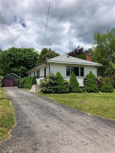 North Kingstown Single Family Home For Sale: 45 Pierce Rd