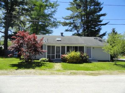 Coventry Single Family Home For Sale: 3 West Shore Rd