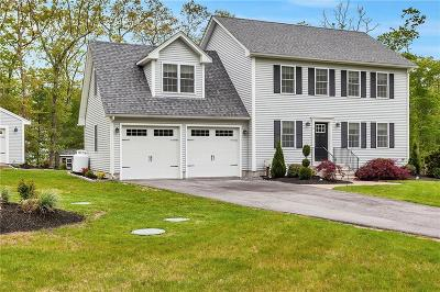Coventry Single Family Home Act Und Contract: 2 Grist Mill Ct
