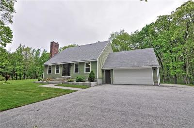 Glocester Single Family Home For Sale: 918 Reynolds Rd