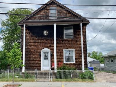 Pawtucket Multi Family Home For Sale: 833 Mineral Spring Avenue