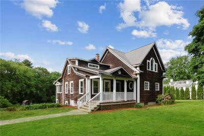 North Smithfield Single Family Home For Sale: 811 Pound Hill Rd