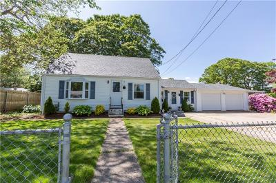 Warwick RI Single Family Home For Sale: $215,000