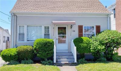 Cranston Single Family Home For Sale: 34 Leslie St