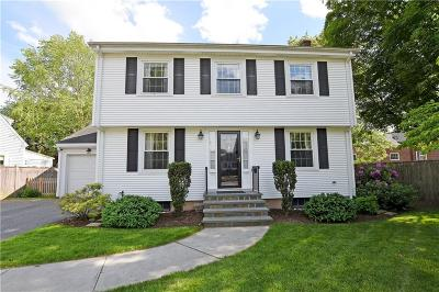 East Providence Single Family Home Act Und Contract: 15 Miller Av