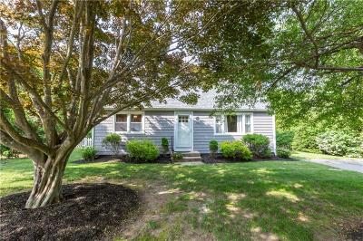 North Kingstown Single Family Home Act Und Contract: 156 Butternut Dr