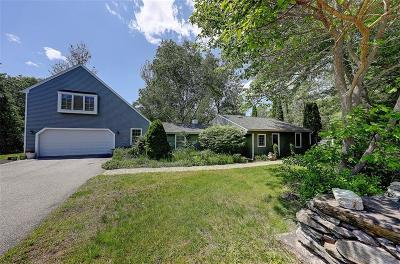 Scituate Single Family Home For Sale: 127 Westcott Rd