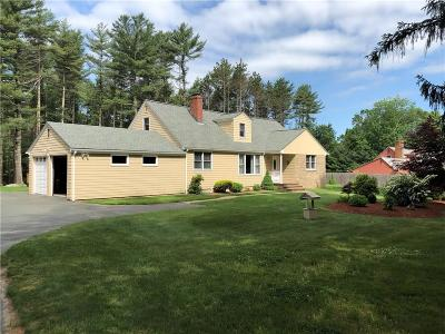 Scituate Single Family Home For Sale: 712 East Rd