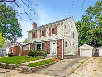 Providence Single Family Home For Sale: 96 Woodbine St