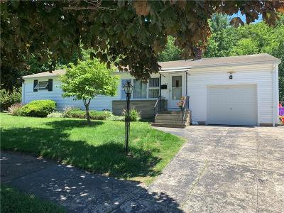 Cranston Single Family Home For Sale: 196 Woodland Av