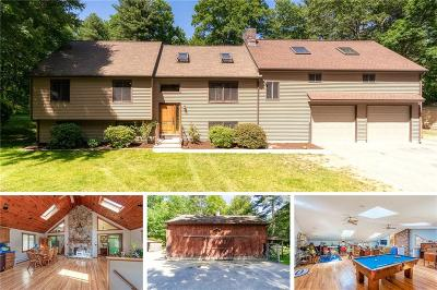 Worcester County, Providence County, Windham County Single Family Home For Sale: 1563 Pound Hill Rd