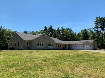 Glocester Single Family Home For Sale: 132 Sprague Hill Rd