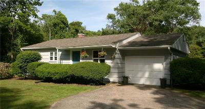 South Kingstown Single Family Home For Sale: 146 Old Post Rd