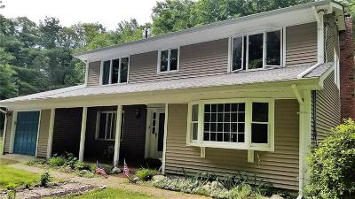 Coventry Single Family Home For Sale: 446 Franklin Rd