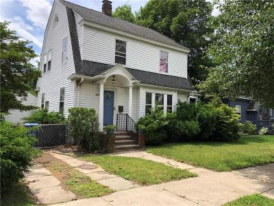 Cranston Single Family Home For Sale: 160 Sinclair Av
