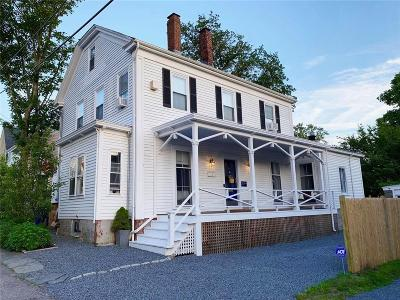 Kent County, Washington County, Newport County, Bristol County, Windham County, Worcester County, Providence County Single Family Home For Sale: 41 Sherman St